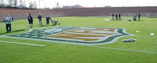 AirDrain, natural turf, super bowl, tostito's fiesta bowl, perched water table,
