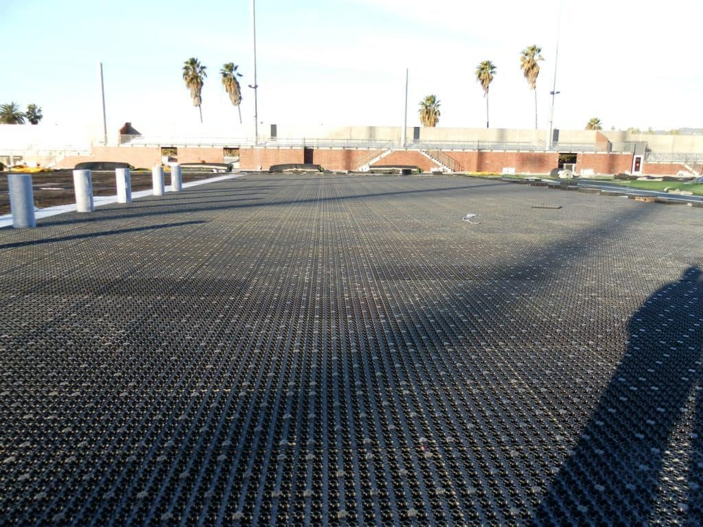 Synthetic Turf Rooftop Sports Field, synthetic turf, artificial turf, sportsfield, airdrain,green roof, artificial turf, turf, roof top sportsfield