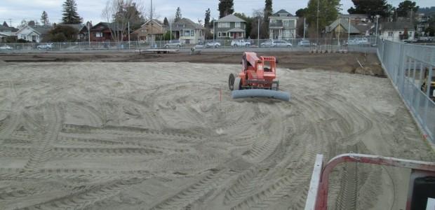 Airdrain Natural Grass Drainage At Derby Field In Berkeley Ca