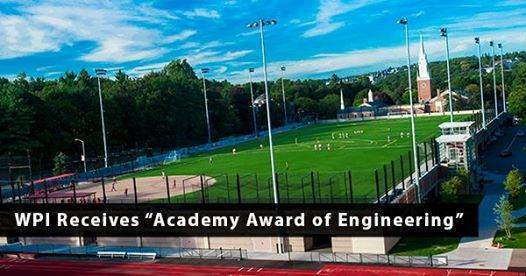 sports field, green roof, rooftop sports field, sports field drainage, award winning field, drainage