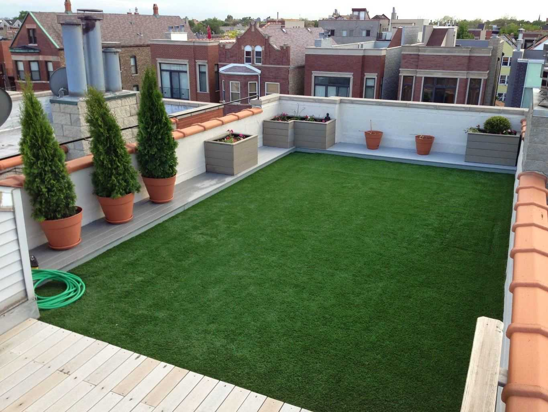 Synthetic Turf Roof Top Garden Diy Chicago