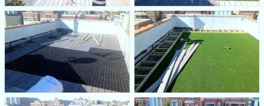 diy, balcony, balcony turf, synthetic turf balcony, synthetic roof, green roof, play area, synthetic turf play area, synthetic turf, artificial turf, turf drainage, air grid, airdrain, rooftop drainage
