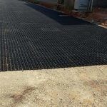 Grass pave fire lane with porous flexible paving for Fire sprinkler system cost calculator