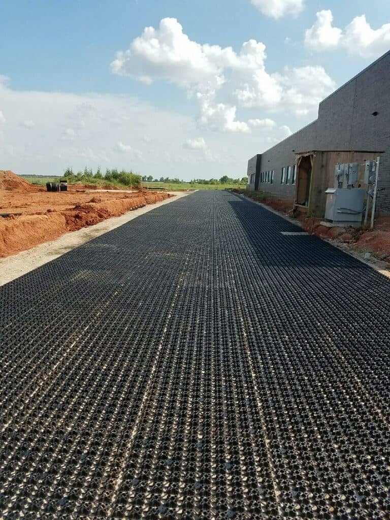 Grass porous pavers, grass porous paving, AirPave, porous paving, grass pave, grass paving, turf reinforcement, porous paving system, grass fire lanes, reinforced grass paving, 32 12 43, 32 14 43, Porous Flexible Paving,