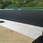 Synthetic grass, Accelerated drainage system, artificial grass,