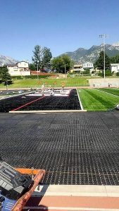 Shock attenuation, synthetic grass drainage, artificial grass drainage, Fake grass, Synthetic grass, Accelerated drainage system, artificial grass, artificial turf, fieldturf, field turf, synthetic turf, athletic field, green roof, synlawn, USGA, shockpad, elayer, gmax, hic, foreverlawn, astro turf, prograss, newgrass, geocell, geogrid, shock pad, Artificial Turf, Super Bowl, NCAA, AirField Systems, Sports Field Drainage, Athletic Field Drainage, Baseball field Drainage, Football Field Drainage, Soccer field Drainage, Lacrosse field Drainage, turf performance field, airgrid, paved court converted to turf