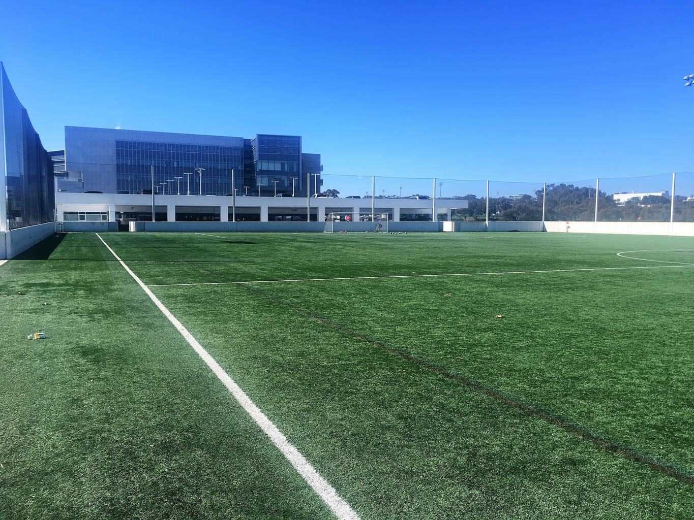 Artificial Grass AirDrain Roof Top Soccer Field