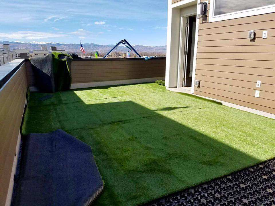Shock attenuation, Artificial grass, synthetic grass, fake grass, green roof, green roofs, greenroof,
