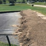 putting green construction, golf course drainage, bunker drainage