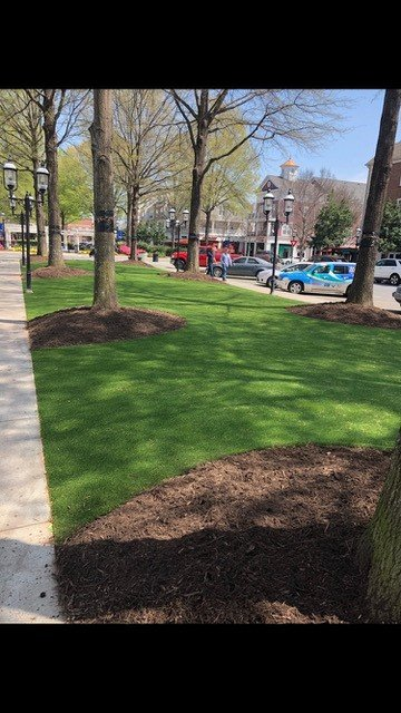 SYNLawn AirDrain Artificial Grass Project