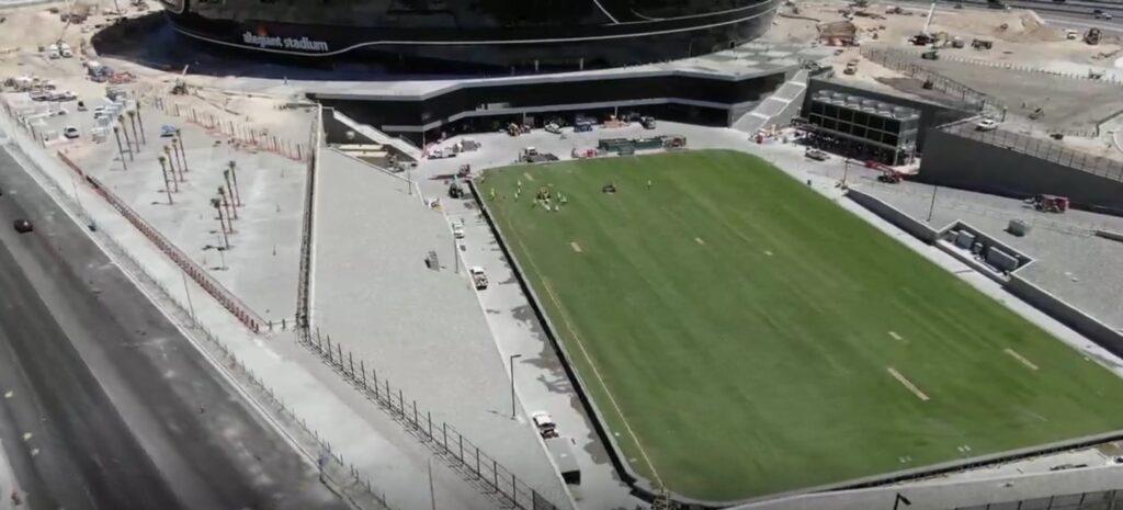 las vegas raiders, airdrain, usga, sportsfields, allegiant stadium