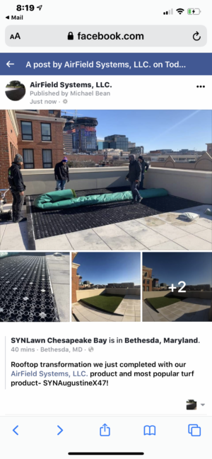 airdrain, green roof, synthetic grass, synlawn, artificial turf