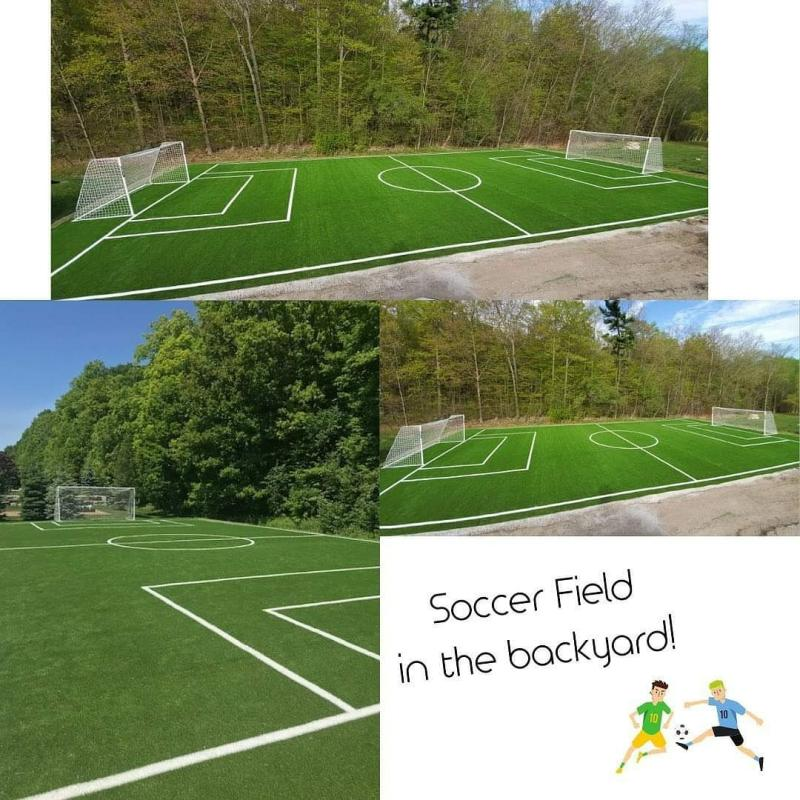 AirDrain Drainage Durham Synthetic Grass