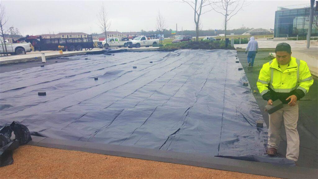 AirDrain, natural grass, turf drainage, agronomic, usga, turf drainage,